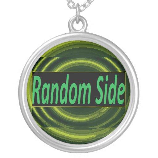 Random side logo  neckless jewelry