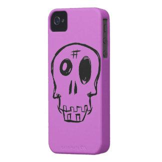 Random Skull Blackberry Case