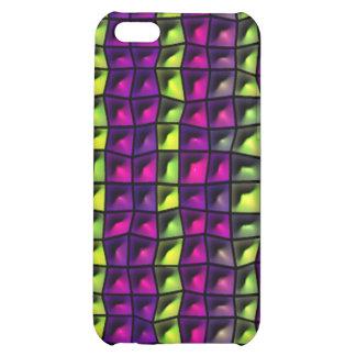 Random tiles pattern iPhone 5C cases