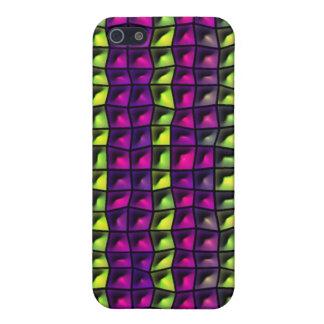 Random tiles pattern iPhone 5 cover