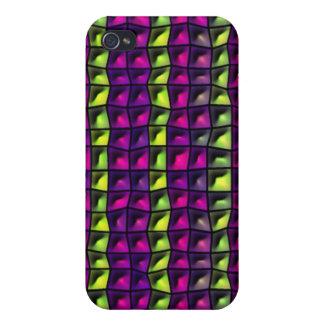 Random tiles pern iPhone 4 case