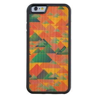 Random triangles cherry iPhone 6 bumper case