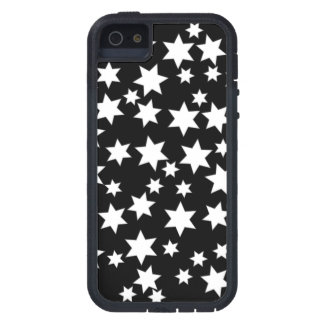 Random White Stars on Black iPhone 5 Cover