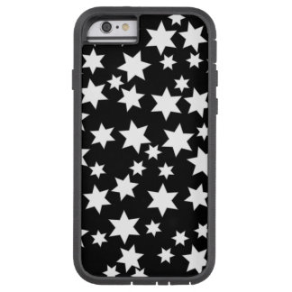 Random White Stars on Black iPhone 6/6s Tough Xtreme iPhone 6 Case
