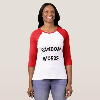 Random Words T-Shirt