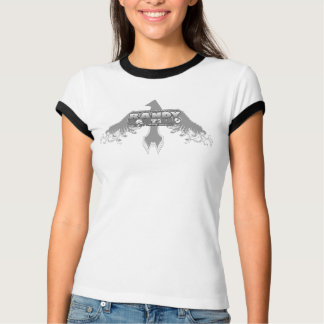 Randy Castillo Thunderbird Ladies' ringer tee