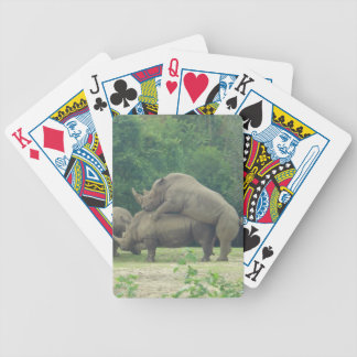 Randy Rhinos Playing cards