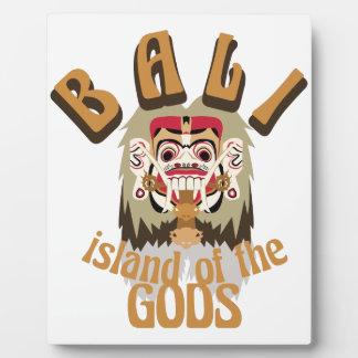 Rangda Bali Island Plaque