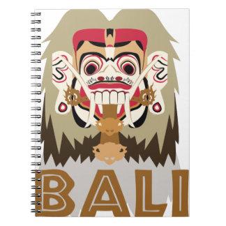 Rangda Bali Notebook