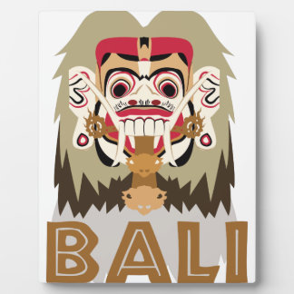 Rangda Bali Plaque