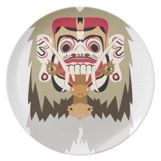 Rangda Party Plate