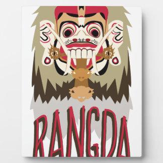 Rangda Plaque