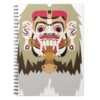 Rangda Spiral Notebook
