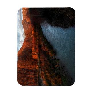 Range of brown rectangular photo magnet