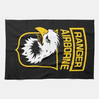 Ranger Airborne Eagle Patch Tea Towel