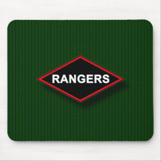 Ranger - Black and Red diamond Mouse Pad