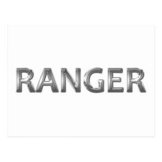 Ranger chrome postcard