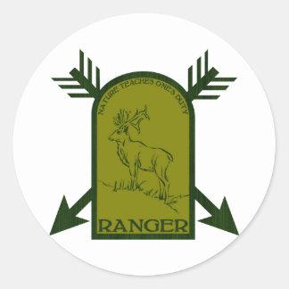 Ranger Classic Round Sticker