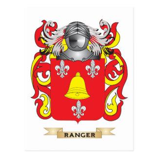 Ranger Coat of Arms (Family Crest) Postcard