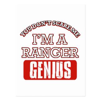 Ranger genius postcards