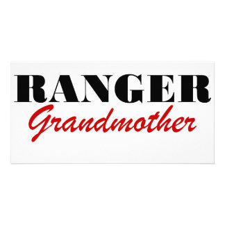 Ranger Grandmother Customized Photo Card