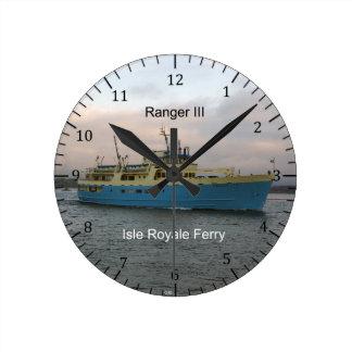 Ranger III clock