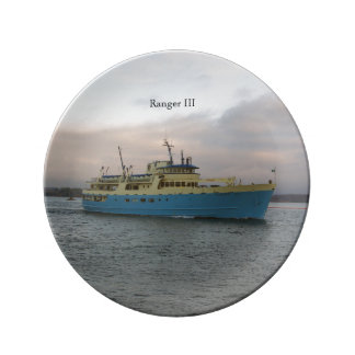 Ranger III decorative plate