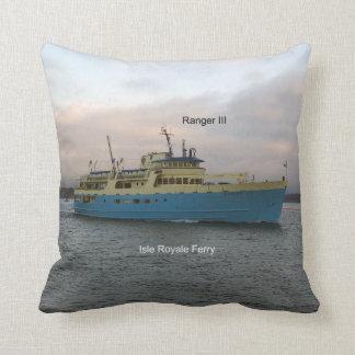 ranger III square pillow