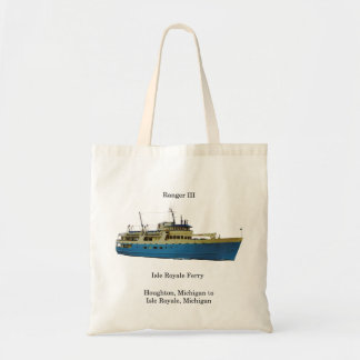 Ranger III tote bag cut out