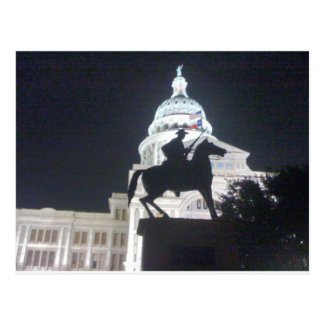 Ranger in front of TX Capitol.jpg Postcard