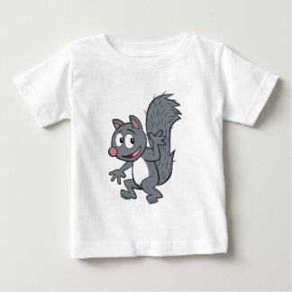 Ranger Rick | Gray Squirrel Waving Baby T-Shirt
