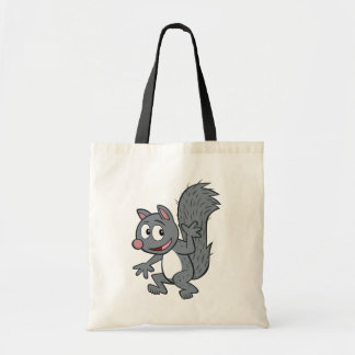 Ranger Rick | Gray Squirrel Waving Tote Bag