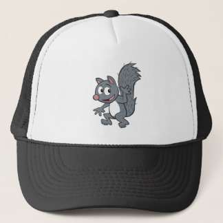 Ranger Rick | Gray Squirrel Waving Trucker Hat