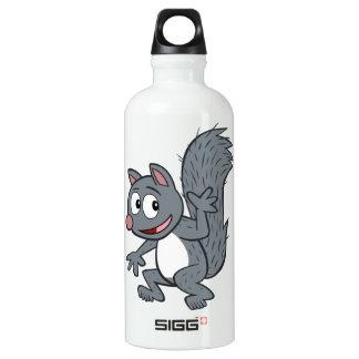 Ranger Rick | Gray Squirrel Waving Water Bottle