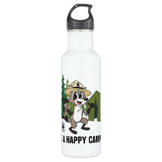 Ranger Rick   Great American Campout -Tent 710 Ml Water Bottle
