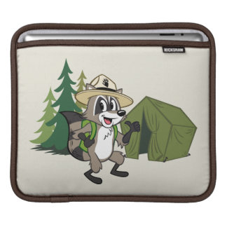 Ranger Rick | Great American Campout -Tent iPad Sleeve