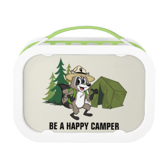 Ranger Rick | Great American Campout -Tent Lunch Box