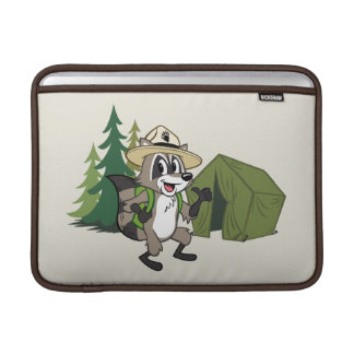 Ranger Rick | Great American Campout -Tent MacBook Sleeve
