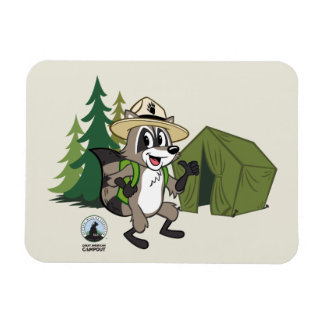 Ranger Rick | Great American Campout -Tent Magnet