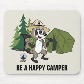 Ranger Rick | Great American Campout -Tent Mouse Pad