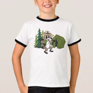Ranger Rick   Great American Campout -Tent T-Shirt