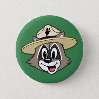 Ranger Rick | Ranger Rick Face 6 Cm Round Badge