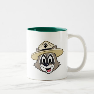 Ranger Rick | Ranger Rick Face Two-Tone Coffee Mug