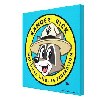 Ranger Rick | Ranger Rick Logo Canvas Print