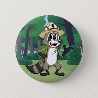 Ranger Rick | Ranger Rick Pointing 6 Cm Round Badge