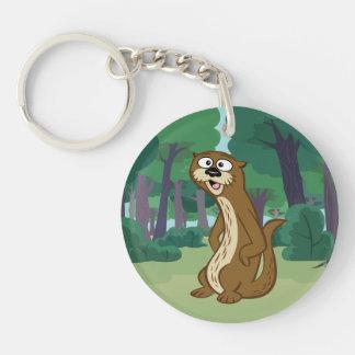 Ranger Rick | Reggie Otter Key Ring