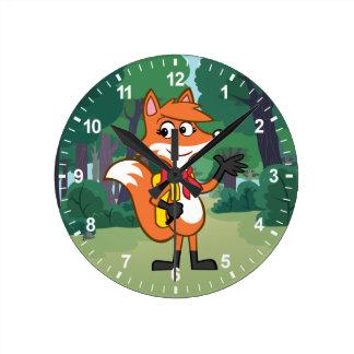 Ranger Rick | Scarlett Fox Waving Clocks