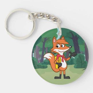 Ranger Rick | Scarlett Fox Waving Key Ring