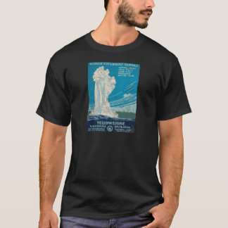 Ranger Service Yellowstone National Park T-Shirt