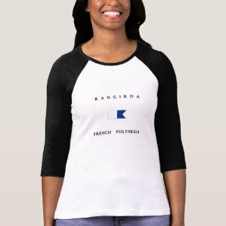 Rangiroa French Polynesia Alpha Dive Flag T-Shirt